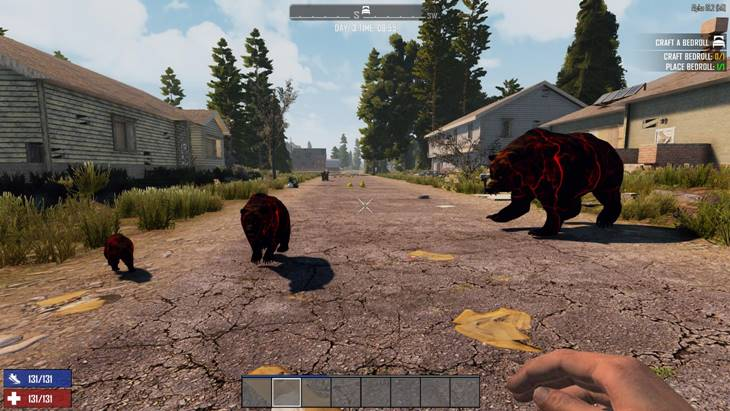 7 days to die screamer bears, 7 days to die animals, 7 days to die zombies