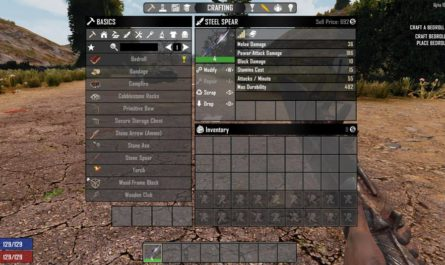 7 days to die better spears, 7 days to die melee weapons, 7 days to die weapons