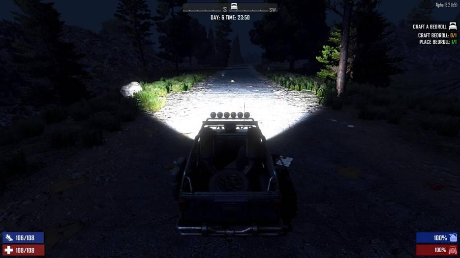 7dtd brighter vehicle headlights, 7 days to die vehicles, 7 days to die lights