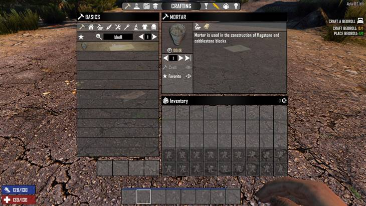 7dtd complex cobble, 7 days to die building materials, 7 days to die recipes
