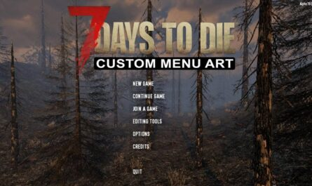 7 days to die custom menu art, 7 days to die menu