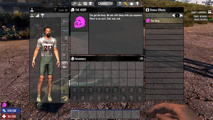 7dtd get the herp, 7 days to die zombies