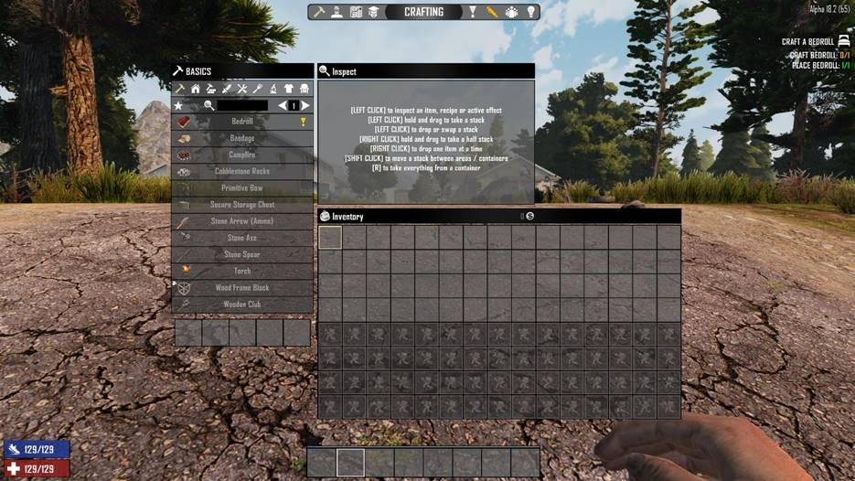 7 days to die mega backpack, 7 days to die bigger backpack, 7 days to die backpack, 7 days to die more slots