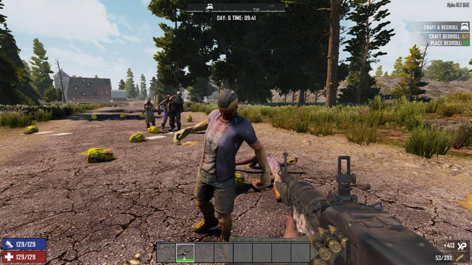 7 days to die more loot bags, 7 days to die loot, 7 days to die zombies