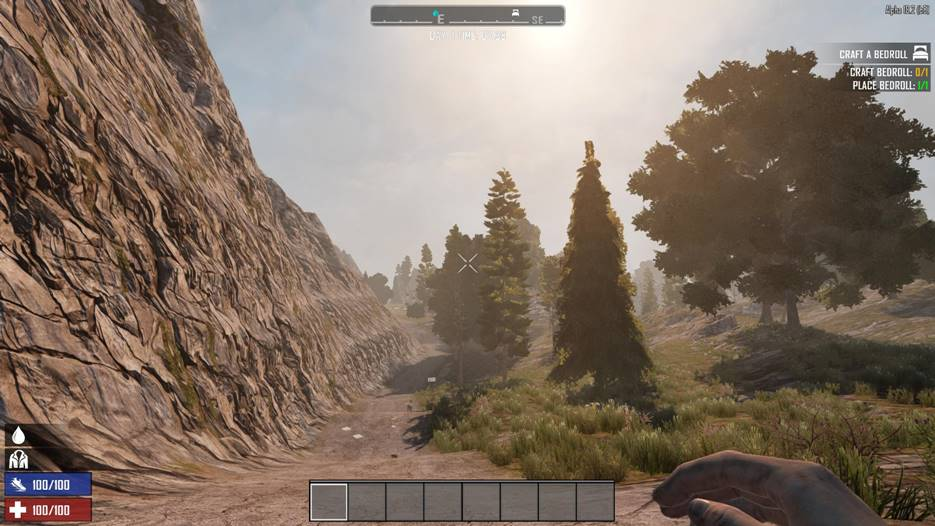 7dtd punishing weather effects - light, 7 days to die weather, 7 days to die biomes