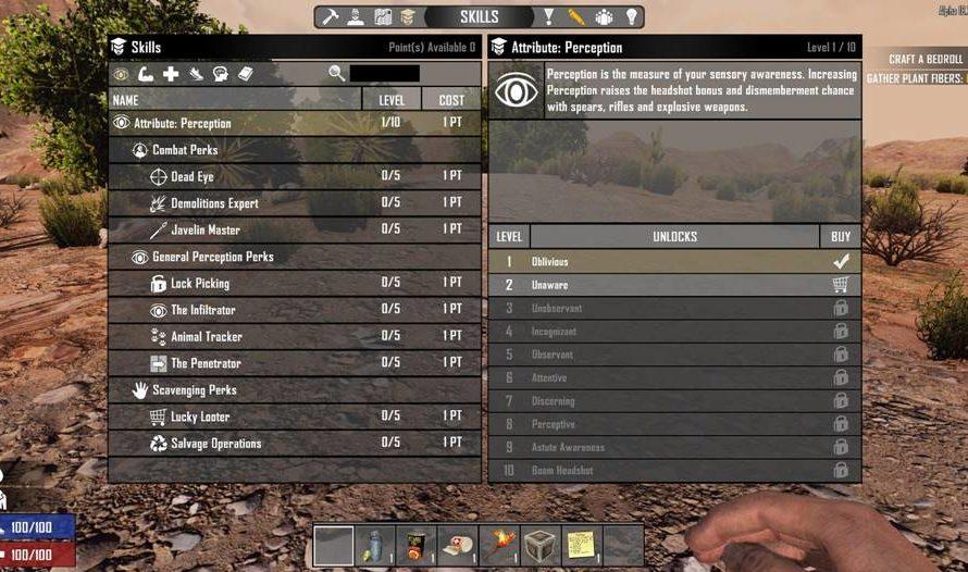 Reset Skills on Death