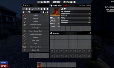 7dtd rocket boots, 7 days to die clothing