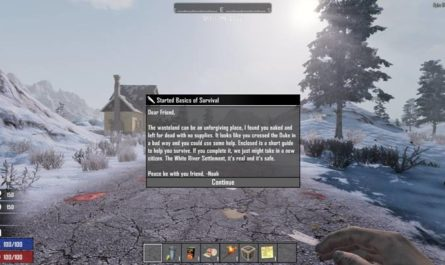 7dtd starter crate, 7 days to die starting items