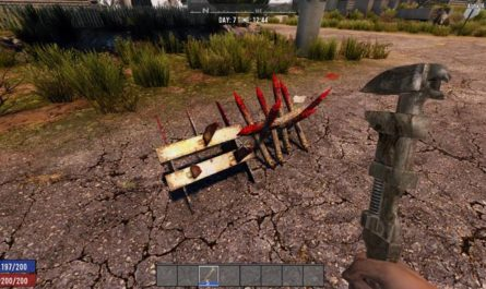 7 days to die disassemble traps, 7 days to die spikes, 7 days to die traps, 7 days to die tools