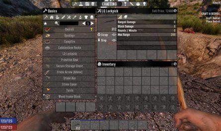 7 days to die lockpicking mod, 7 days to die tools