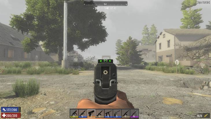 7 days to die vanilla firearms extended, 7 days to die weapons, 7 days to die ammo