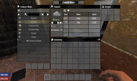 7 days to die better cement, 7 days to die building materials