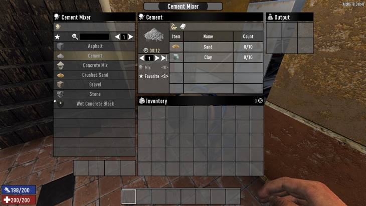 7dtd better cement, 7 days to die building materials