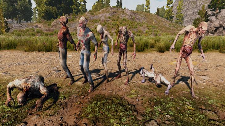 7dtd creature pack zombie contribution, 7 days to die zombies