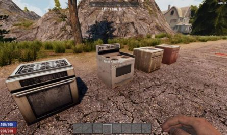 7dtd delmod kitchen, 7 days to die building materials