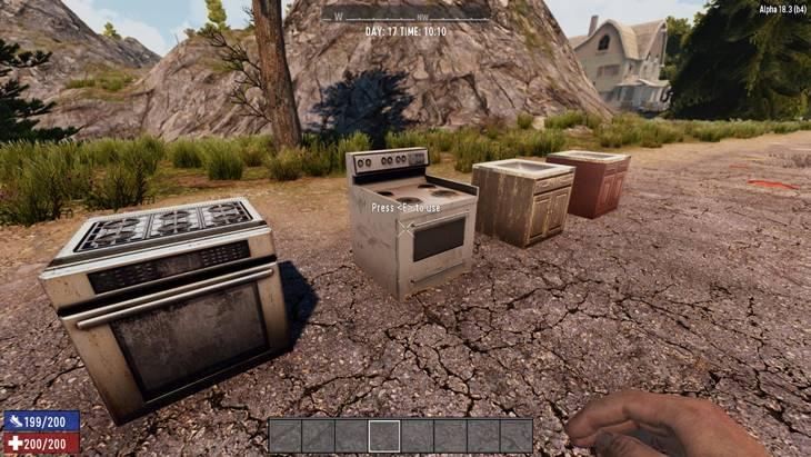 7dtd delmod kitchen, 7 days to die building materials