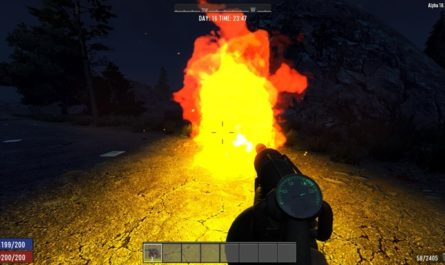 7dtd flamethrower, 7 days to die weapons, 7 days to die ammo