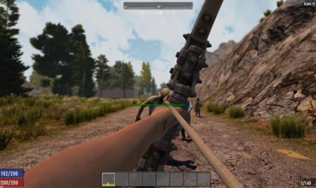 7dtd headshot zombies, 7 days to die weapons, 7 days to die zombies