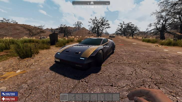 7dtd quadra v-tech car mod, 7 days to die car mods, 7 days to die vehicles