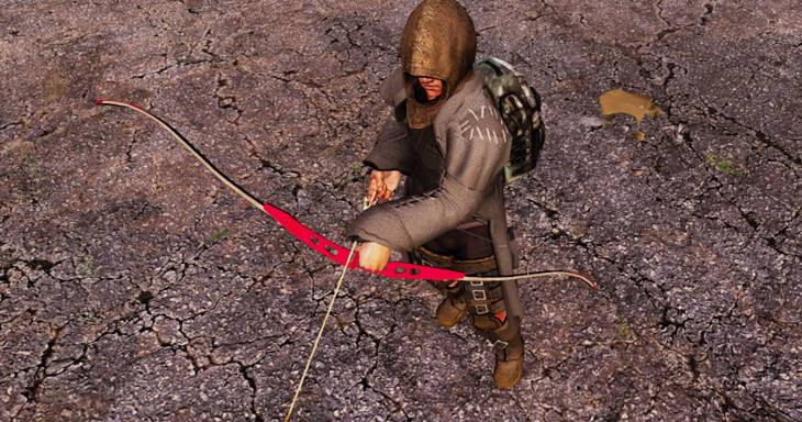 7dtd recurve bow, 7 days to die weapons