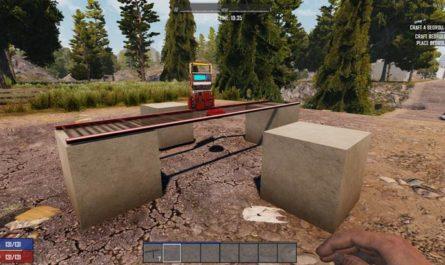 7dtd rotation bridge mod, 7 days to die bridges, 7 days to die building materials