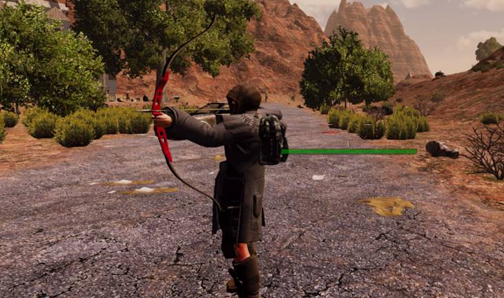 7dtd recurve bow, sample screenshot