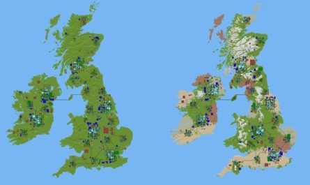 7 days to die uk map pack, 7 days to die maps