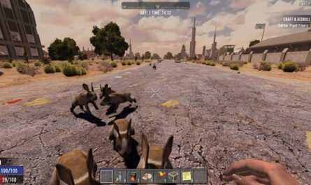 7dtd kings killer rabbit, 7 days to die animals