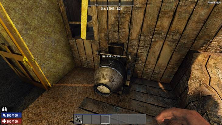 7 days to die hd cement mixer, 7 days to die building materials, 7 days to die tools