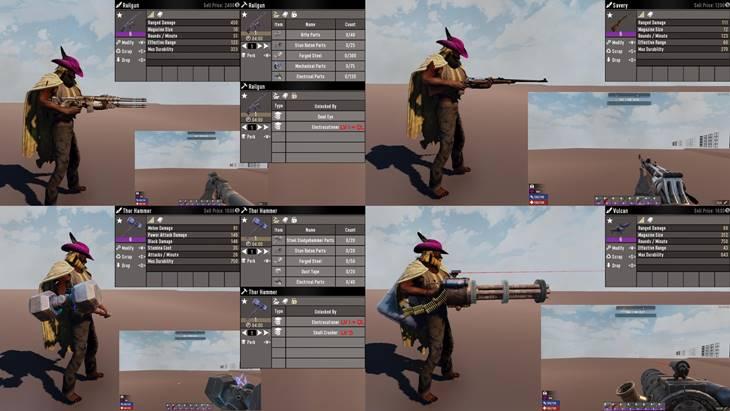 7 days to die server side weapons screenshot