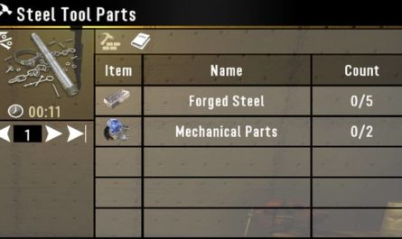 7 days to die craftable steel tool parts, 7 days to die tools