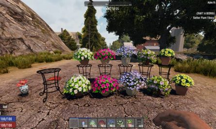 7 days to die flower bunch mod, 7 days to die building materials