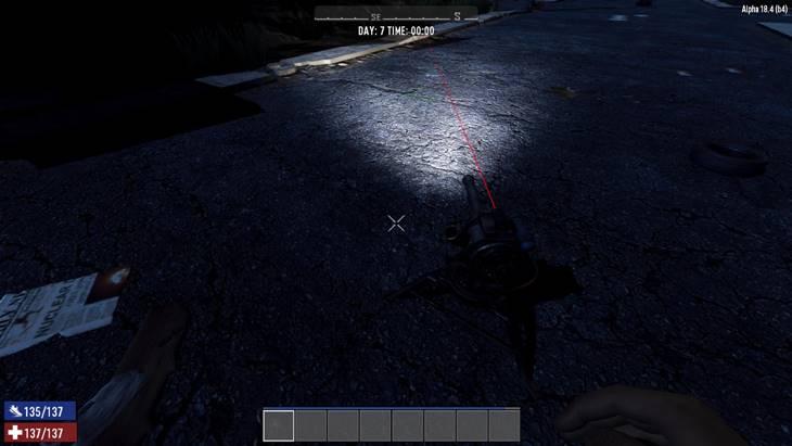 Junk Turret Flashlight