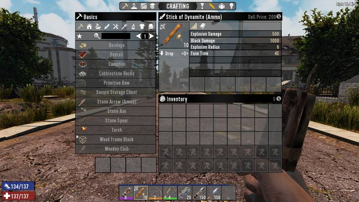 7 days to die nerf explosives, 7 days to die ammo, 7 days to die weapons
