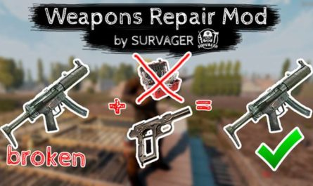 7 days to die weapons repair mod, 7 days to die weapons, 7 days to die tools