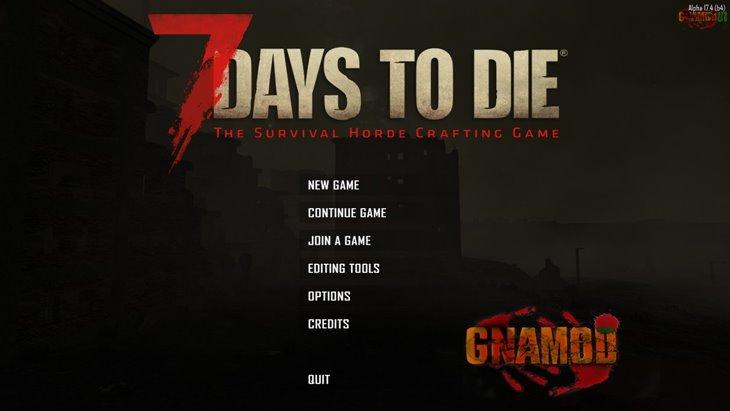 7 days to die gnamod, 7 days to die overhaul mods