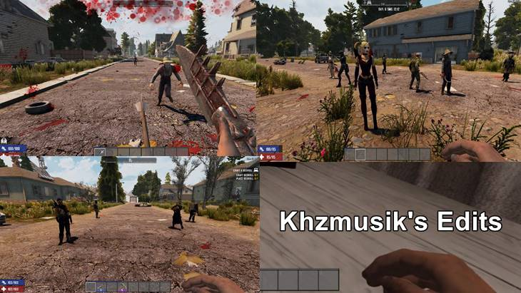 Khzmusik's Edits for Some Mods