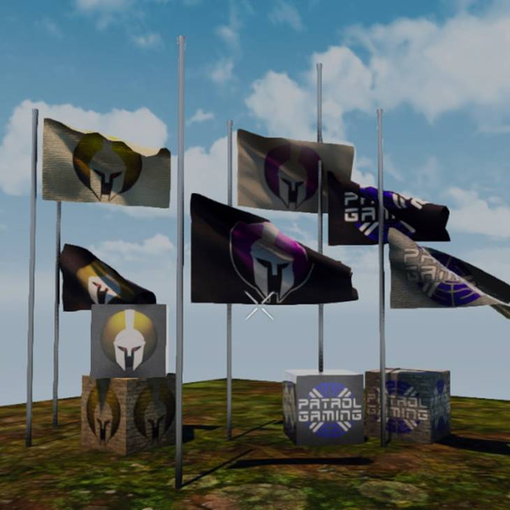 7 days to die spartan blocks, 7 days to die flag, 7 days to die building materials