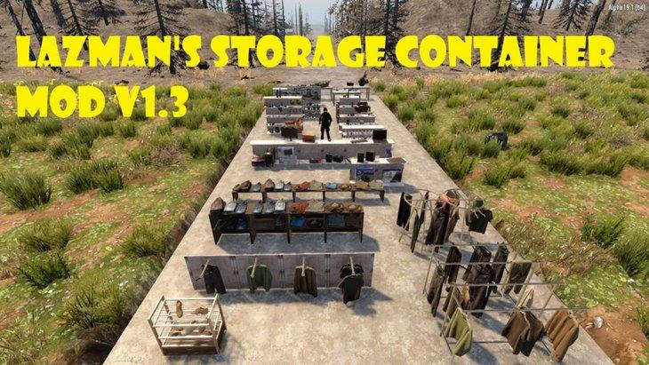 7 days to die storage container mod additional screenshot