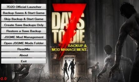 7 days to die backup and mod manager