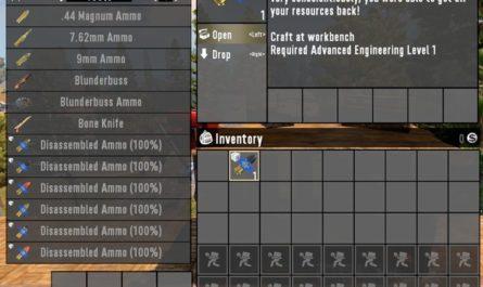 7 days to die disassemble ammunition, 7 days to die ammo