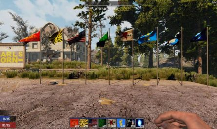 7 days to die flags mod, 7 days to die flag, 7 days to die building materials