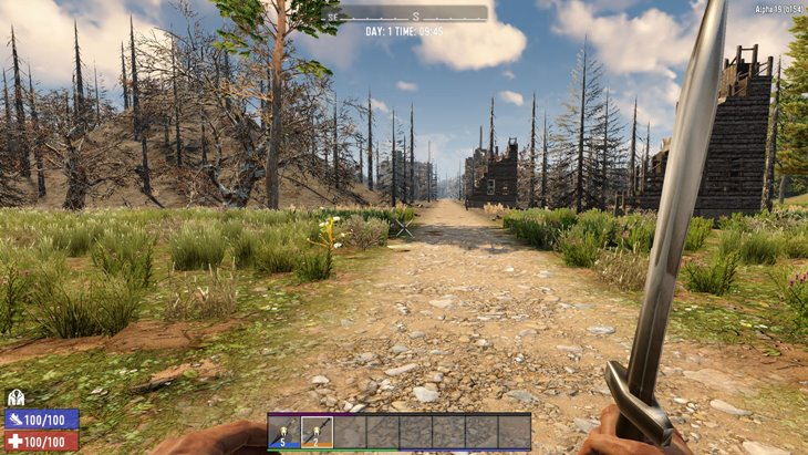 7 days to die grand spartan, 7 days to die melee weapons, 7 days to die weapons