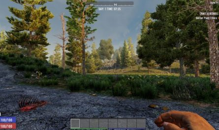 7 days to die less forest clutter, 7 days to die biomes