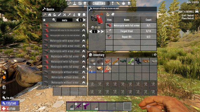 7 days to die motorcycle alterations (survager overwork) additional screenshot 1