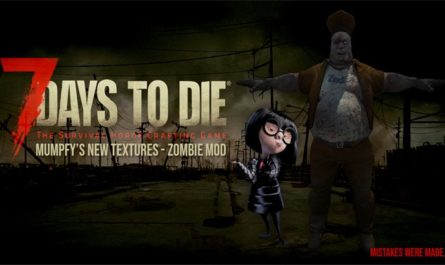 7 days to die new zombie textures by mumpfy, 7 days to die zombies, 7 days to die textures