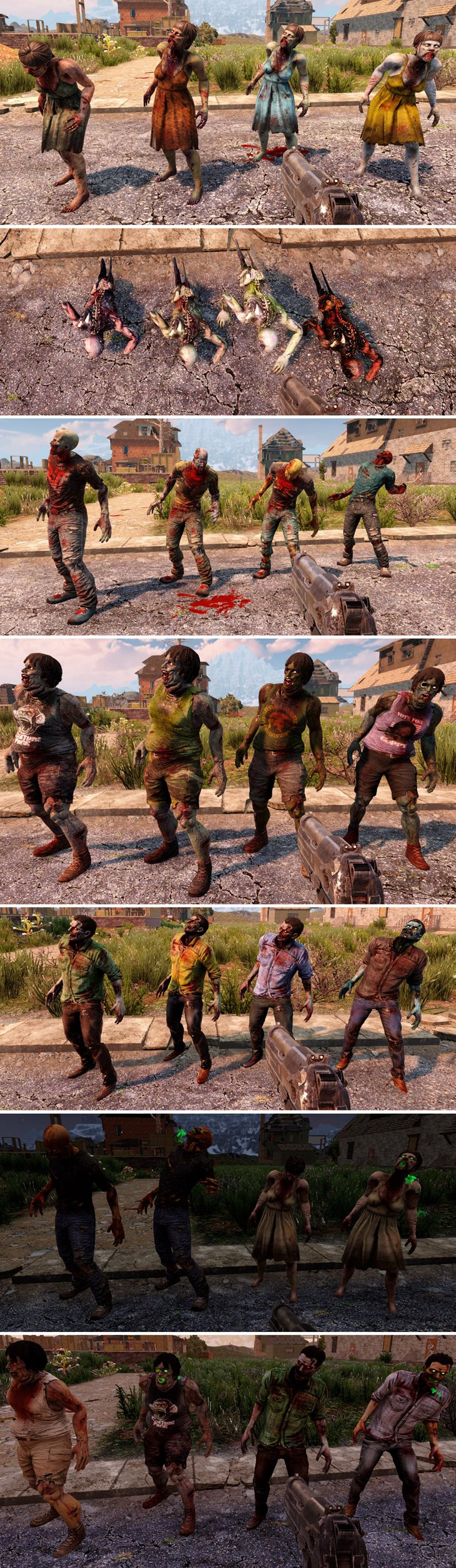 7 days to die new zombie textures by mumpfy additional screenshot