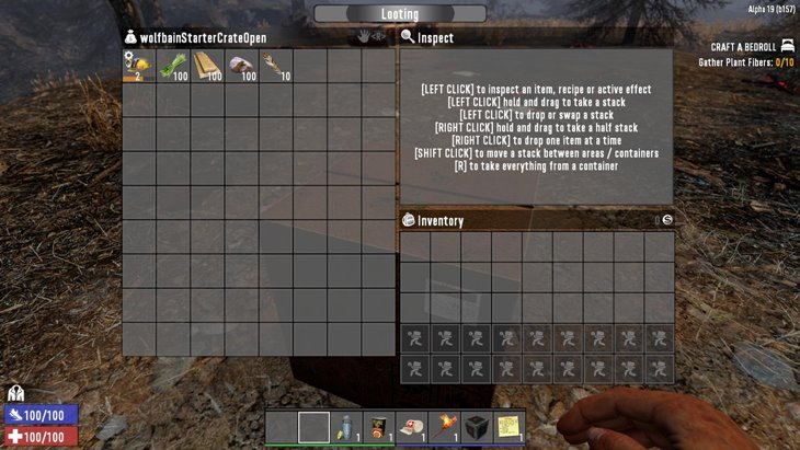 7 days to die starter quest, 7 days to die quests, 7 days to die starting items