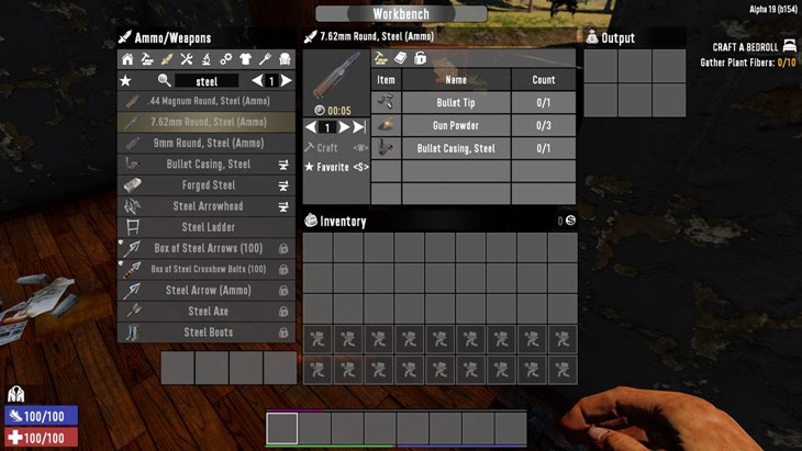 7 days to die steel ammo, 7 days to die ammo