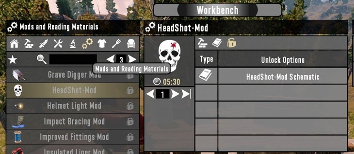 7 days to die weapon mod for one hit headshot kills additional screenshot 2
